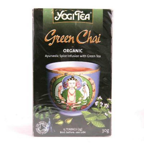 Green Chai Tea ORGANIC image 2