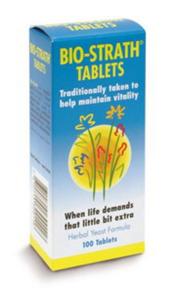 Biostrath Supplement Tablets