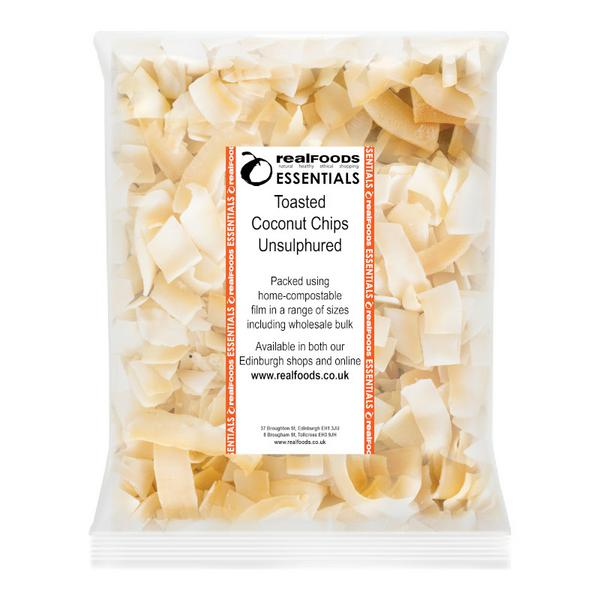 Coconut Chips Toasted Unsulphured No Gluten Containing Ingredients image 2