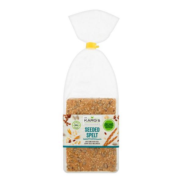 Seeded Spelt Crispbreads Vegan, ORGANIC