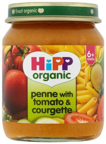 Tomato & Courgette Penne Baby Food 6 months plus ORGANIC