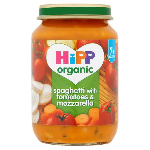 Tomato & Mozzarella Spaghetti Baby Food ORGANIC