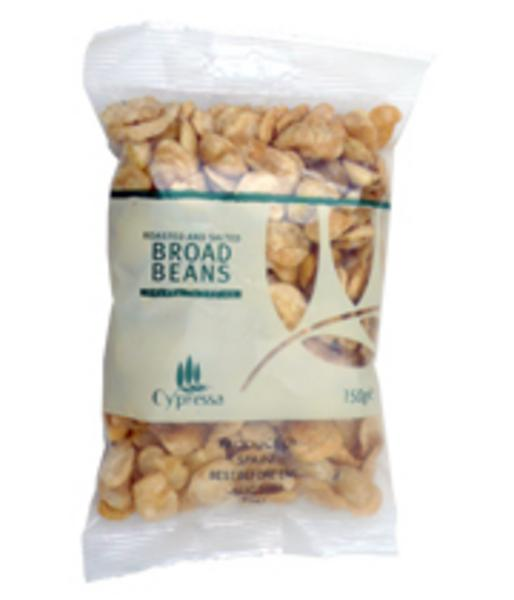 Roasted And Salted Broad Bean Snack In 150g From Cypressa
