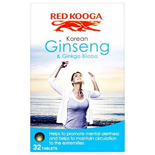 Korean Ginseng & Ginkgo Biloba Supplement