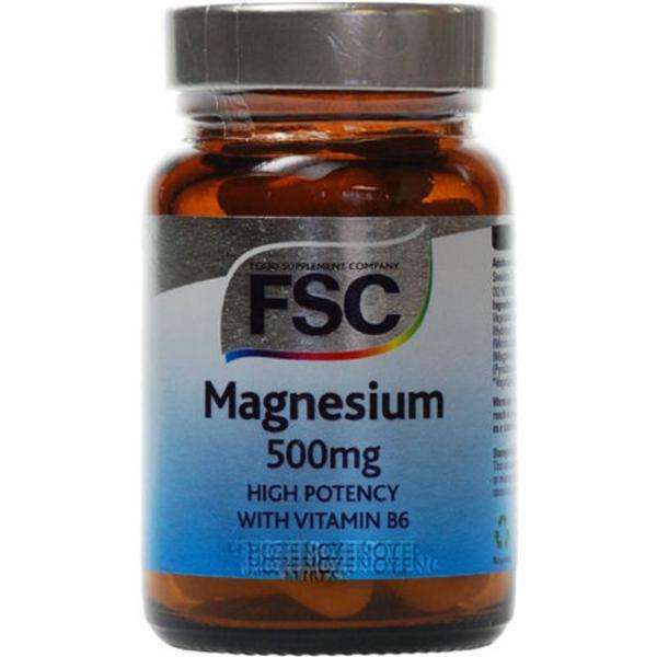 Magnesium Mineral 500mg Vegan