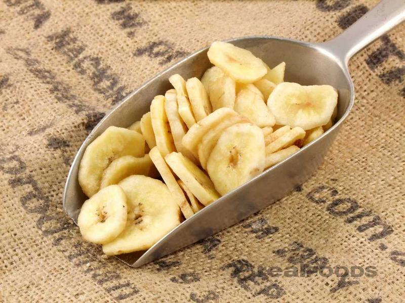 Banana Chips No Gluten Containing Ingredients, ORGANIC