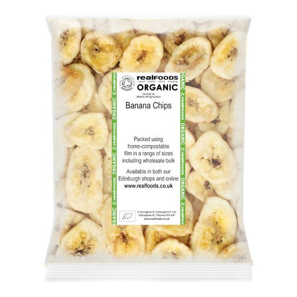 Banana Chips No Gluten Containing Ingredients, ORGANIC image 2