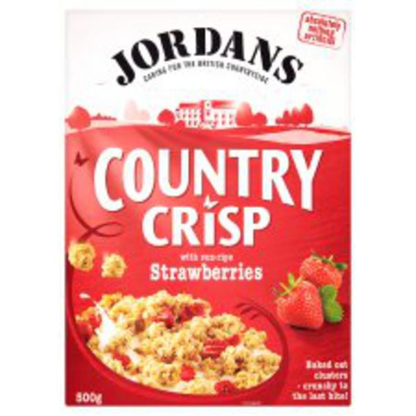 Country Crisp Strawberry Cereal