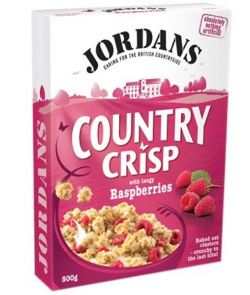 Country Crisp Raspberry Cereal