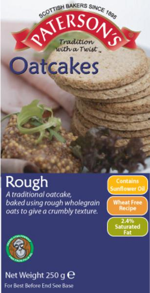 Rough Oatcakes wheat free