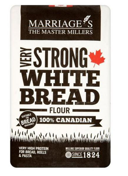Very Strong 100% Canadian White Flour