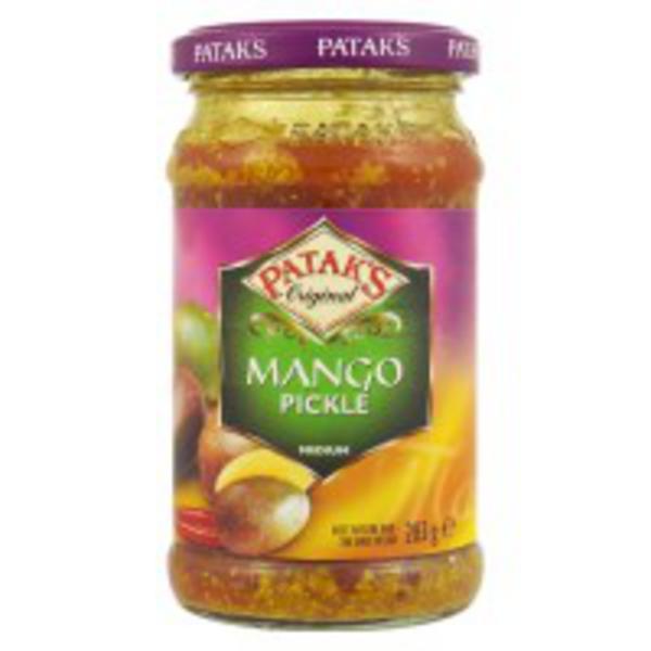 Mild Mango Pickle Gluten Free