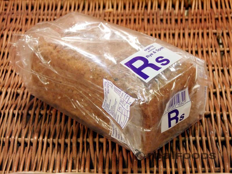 Rye & Spelt Bread yeast free, Demeter ORGANIC