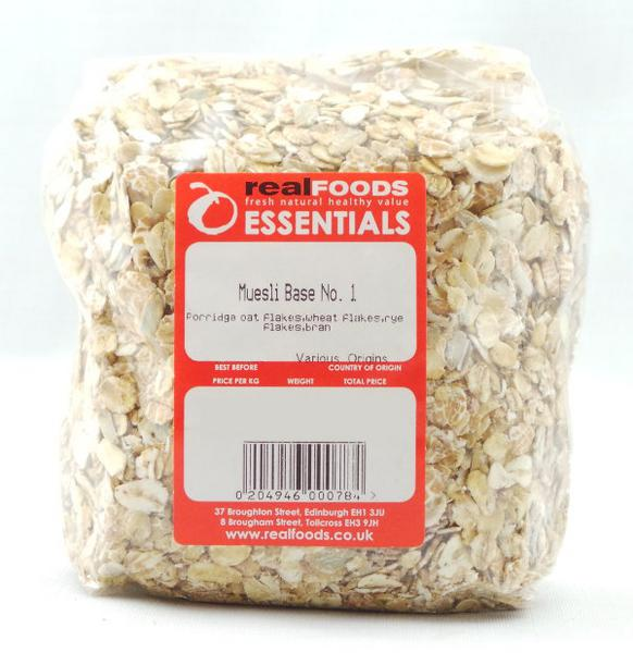 Muesli Base No. 1 no sugar added
