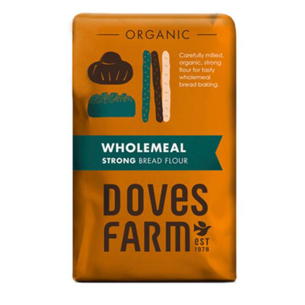Strong 100% Wholemeal Bread Flour ORGANIC