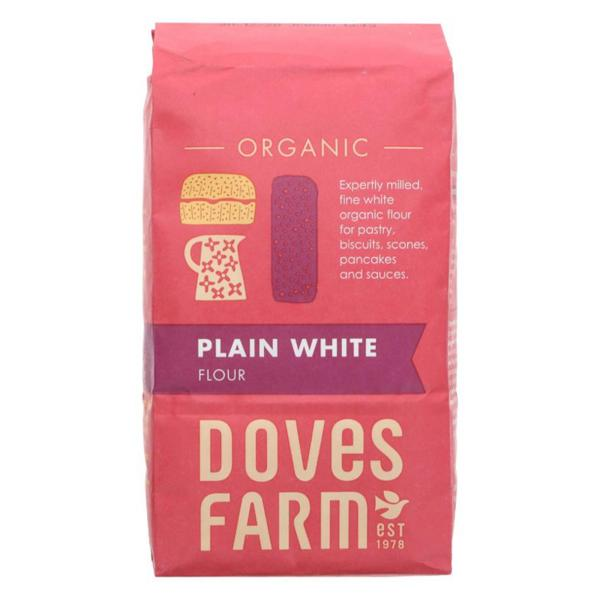 White Flour Plain Ethical ORGANIC