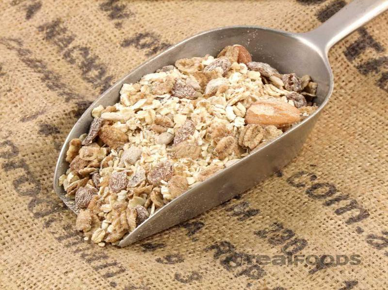 Deluxe Muesli no sugar added, ORGANIC