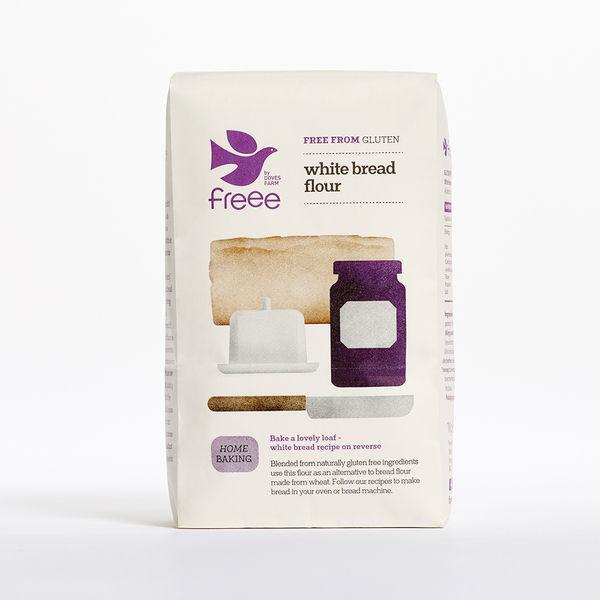 White Bread Flour Gluten Free