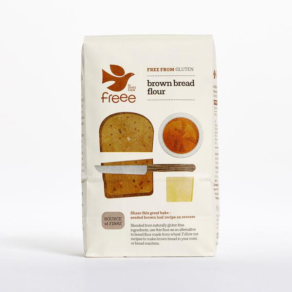 Brown Bread Flour Gluten Free
