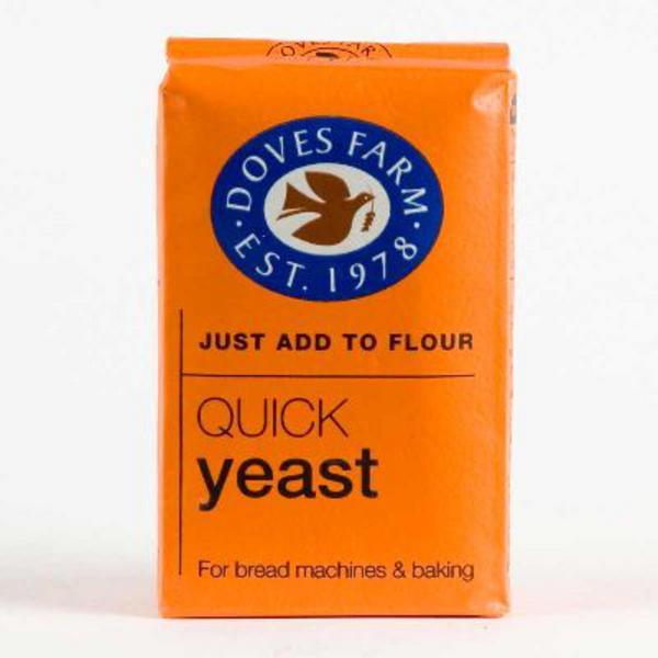 Yeast Quick Gluten Free, Vegan