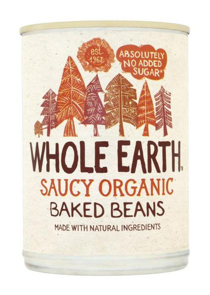 Saucy Baked Beans no added sugar, ORGANIC