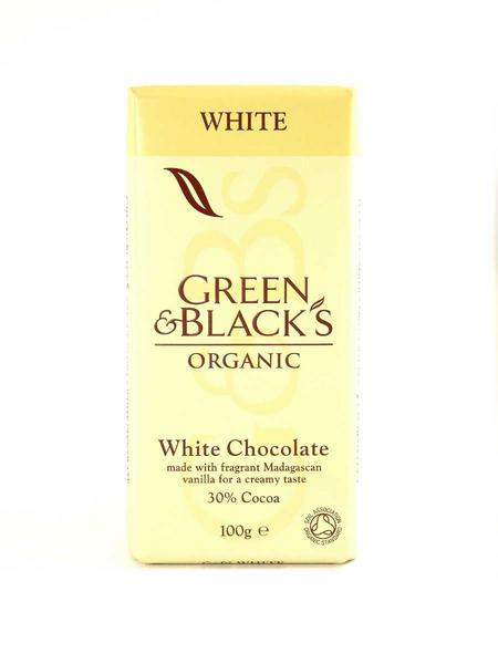 White Chocolate FairTrade, ORGANIC