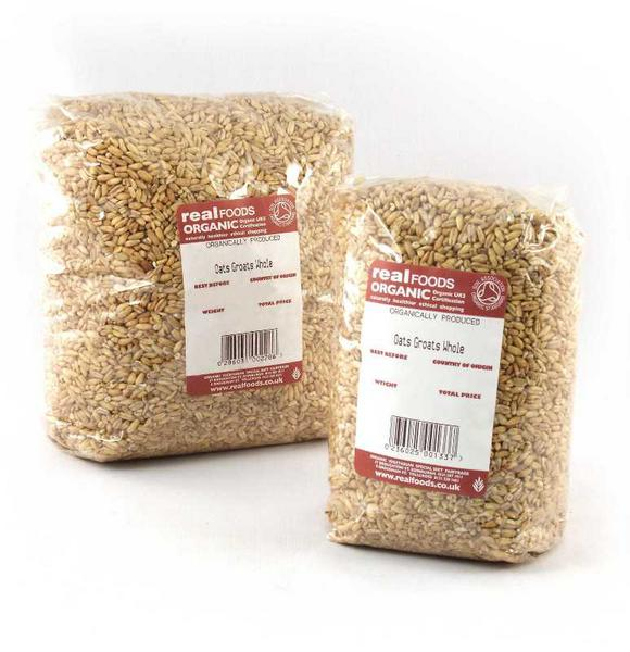 Whole Oat Groats ORGANIC image 2