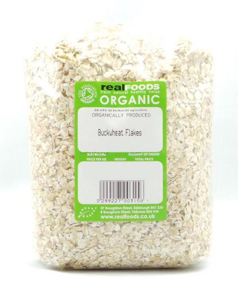 Buckwheat Flakes no added sugar, ORGANIC image 2