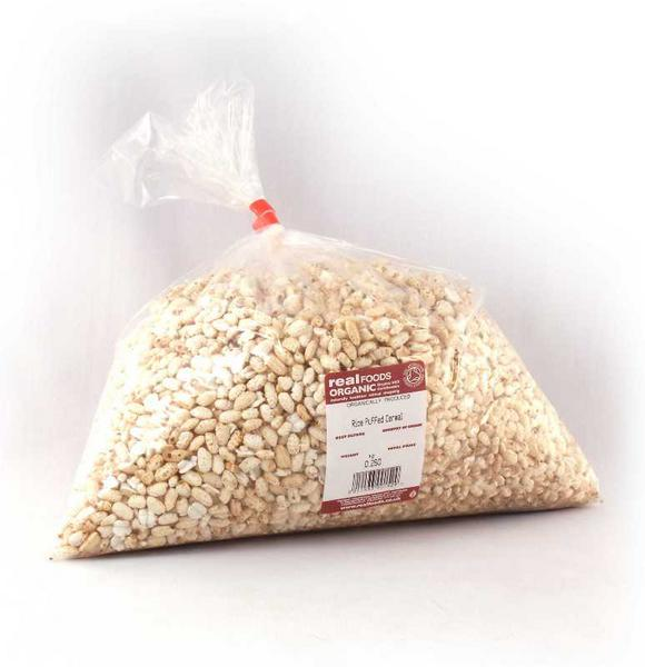 Puffed Cereal Rice No Gluten Containing Ingredients, ORGANIC image 2