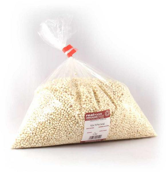 Puffed Millet no added salt, no added sugar, wheat free, ORGANIC image 2
