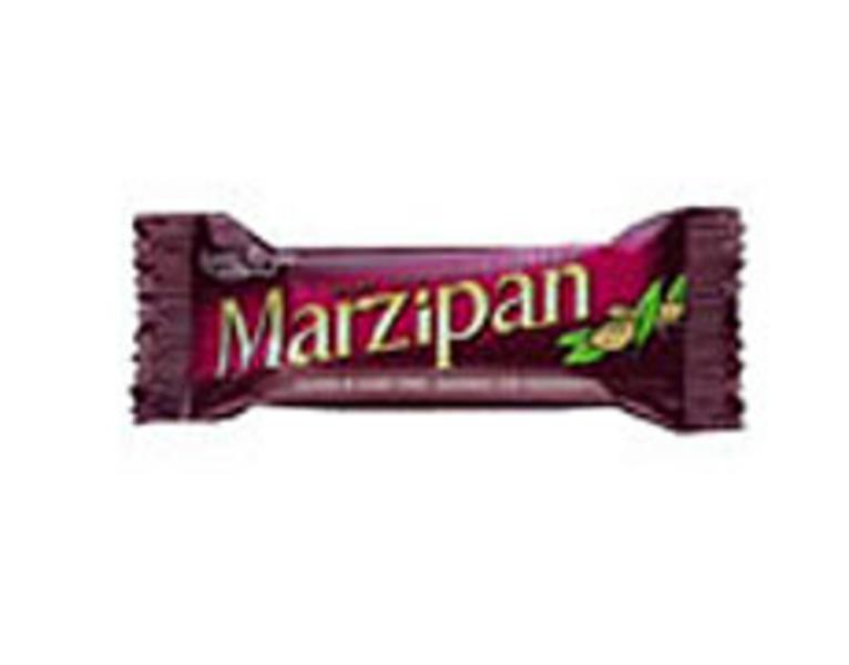 Chocolate Coated Marzipan Snackbar Vegan, wheat free