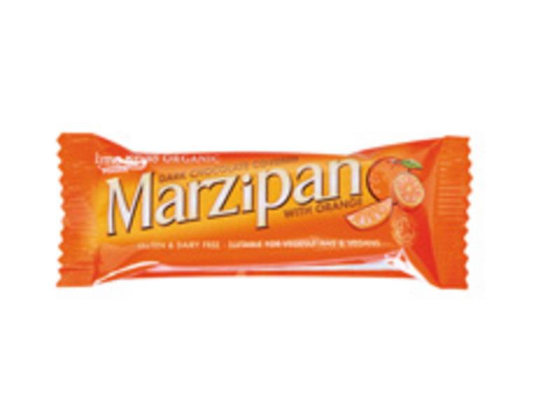Marzipan With Orange Snackbar Vegan, wheat free, ORGANIC