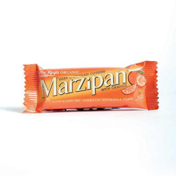 Marzipan With Orange Snackbar Vegan, wheat free, ORGANIC image 2