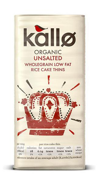 Rice Cakes Thin no added salt, ORGANIC