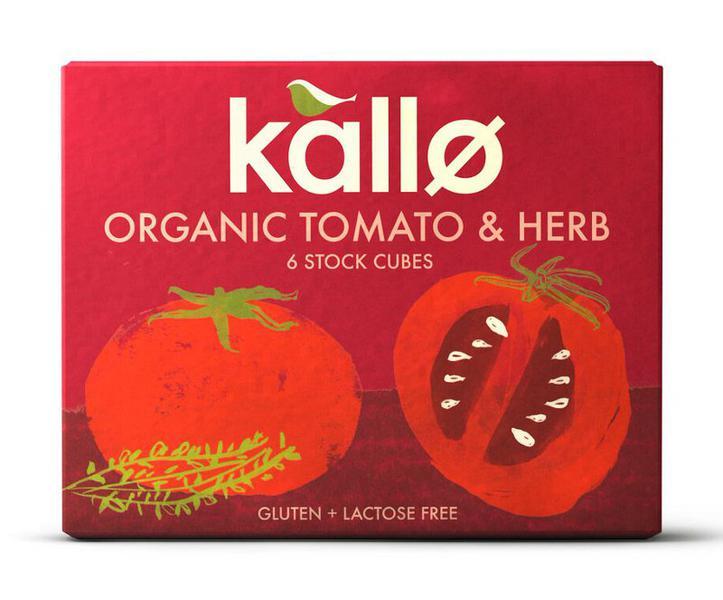 Tomato & Herb Stock Cubes Gluten Free, Vegan, ORGANIC