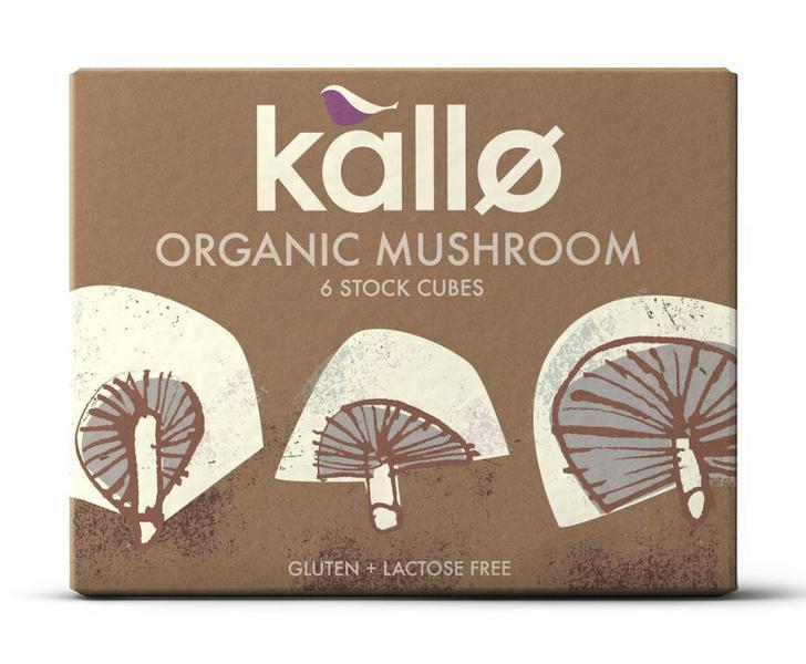 Mushroom Stock Cubes Gluten Free, Vegan, ORGANIC