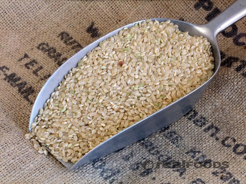 Short Grain Brown Rice Italy ORGANIC