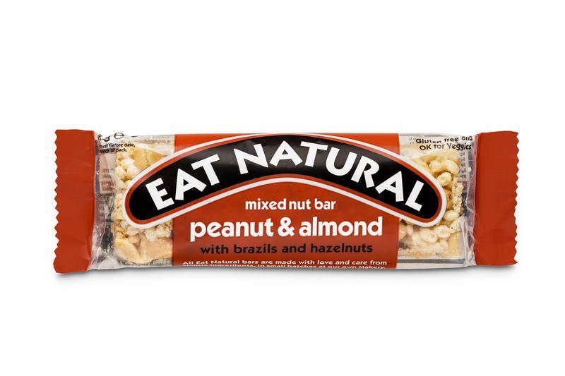 Peanut,Almond & Hazelnut Snackbar Gluten Free