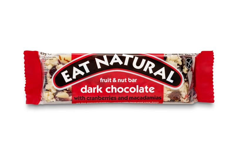 Dark Chocolate,Cranberry & Macadamia Snackbar
