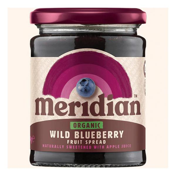 Wild Blueberry Fruit Spread no sugar added, ORGANIC