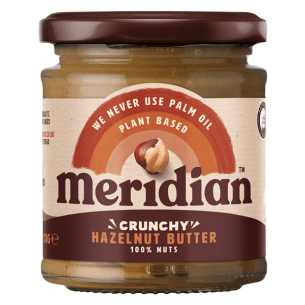 Crunchy Hazel Nut Butter no added salt, no sugar added