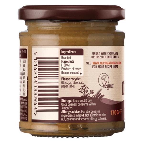 Crunchy Hazel Nut Butter no sugar added, Vegan image 2