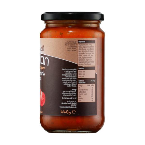 Herb & Tomato Pasta Sauce Vegan, ORGANIC image 2