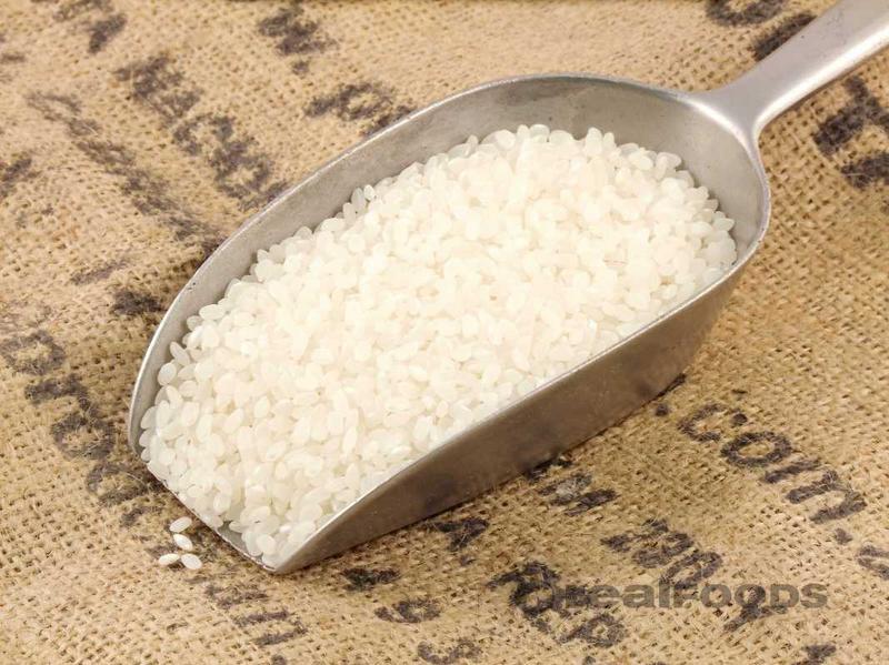 Short Grain White Rice Italy ORGANIC