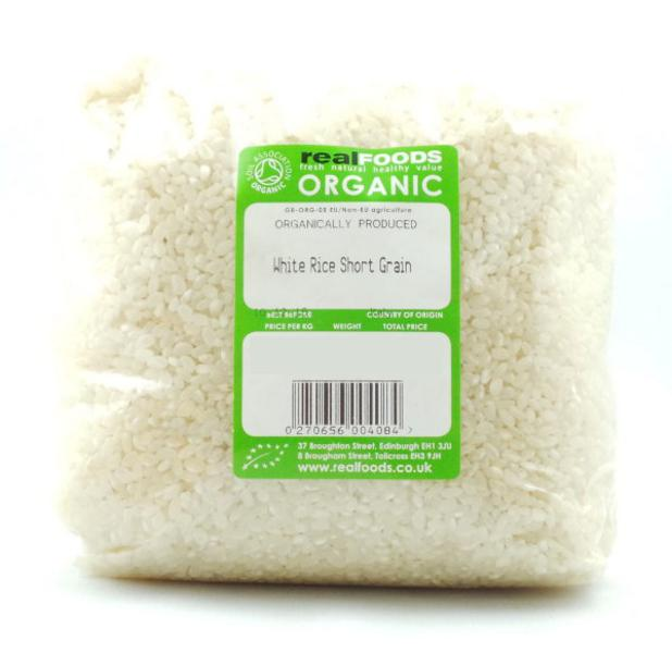 Short Grain White Rice Italy ORGANIC image 2