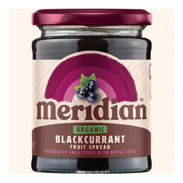 Blackcurrant Fruit Spread No Gluten Containing Ingredients, no sugar added, ORGANIC