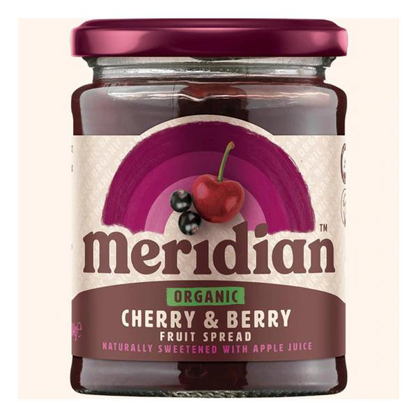 Cherry & Berry Fruit Spread no sugar added, ORGANIC