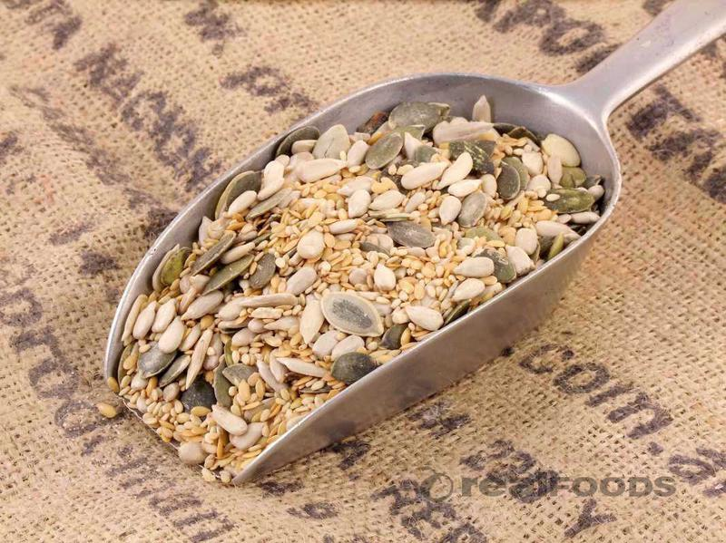 Omega Seed Mix No Gluten Containing Ingredients, ORGANIC