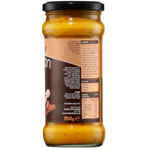 Free From Korma Sauce Vegan, wheat free image 2