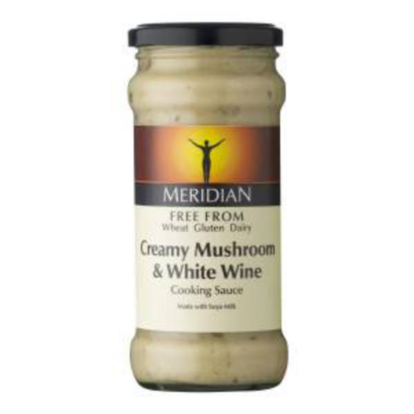 Mushroom & White Wine Pasta Sauce Vegan, wheat free